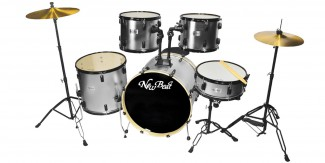 BATERIA NEW BEAT ACUSTICA NB300SET-BKHW