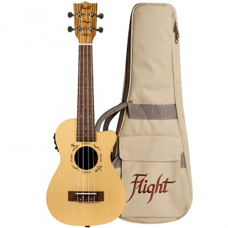 UKELELE FLIGHT E/ACUST DUC 328 CEQ SP/ZE