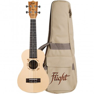 UKELELE FLIGHT CONCIERTO  DUC525 SP/ZEB