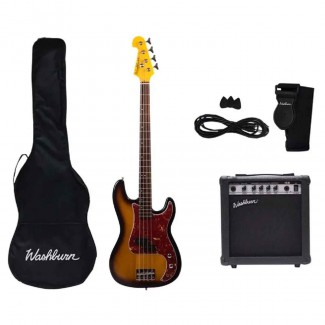 BAJO WASHBURN ELECTRICO WSB500PACK