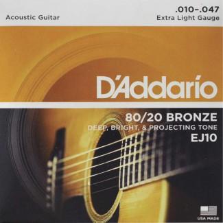 ENCORDADURA DADDARIO MOD. EJ-10