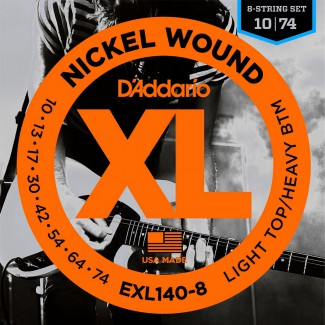 ENCORDADURA DADDARIO MOD. EXL-140-8*1PZA