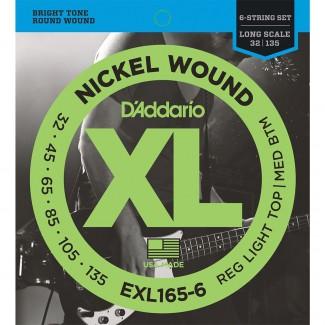 ENCORDADURA DADDARIO MOD. EXL-165-6