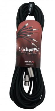 CABLE PROEL P/MICROFONO LW MC250LU10