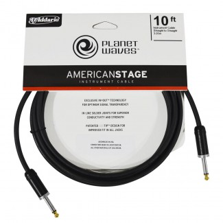 CABLE PLANET WAVE P/INST.   PW-AMSG-10