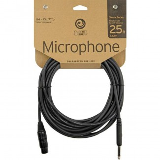 CABLE PLANET WAVE P/MICROFONO PW-CGMIC25