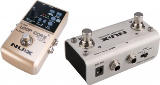 PEDAL NUX LOOP CORE DELUXE + FOOTSWITCH