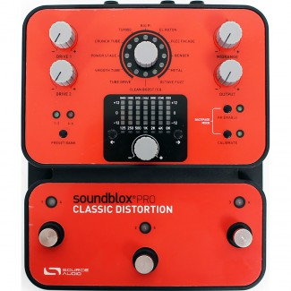 PEDAL SOURCE AUDIO CLASSIC DISTORTION