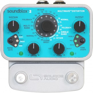 PEDAL SOURCE AUDIO MULTIWAVE DISTORTION