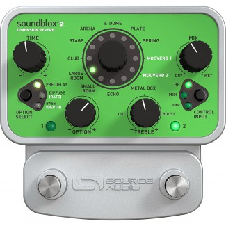 PEDAL SOURCE AUDIO DIMENSION REVERB
