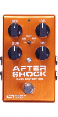 PEDAL SOURCE AUDIO AFTERSHOCK BASS DISTO