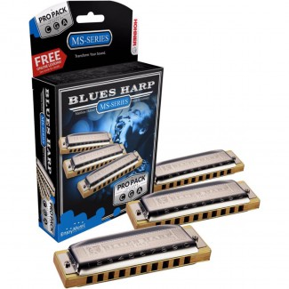 ARMONICA HOHNER 532/20 BLUES HARP PRO PK