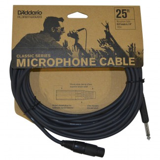 CABLE PLANET WAVE P/MICROFONO PW-GM-25